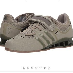 Woman's power weight lifting Adidas shoe
